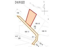 木ノ根坂 200万円 土地価格200万円、土地面積661㎡地形図