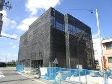 吉岡字道下 3580万円 現地(2019年9月8日)撮影 2Fコンクリート打設終了 3Fコンクリート打設準備中