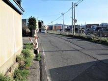 大字文京町(弘前学院大前駅) 815万円~990万円 北側からの撮影です。