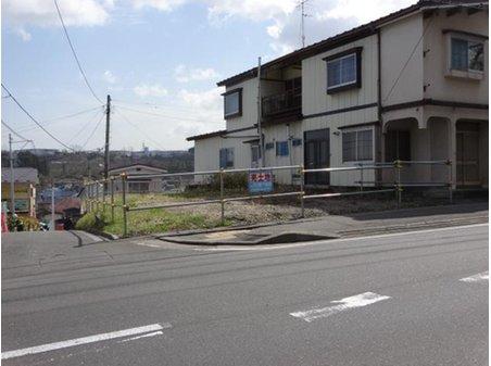 大字田面木字外久保(八戸駅) 490万円 前面道路には歩道も入っています。