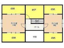 近江 2300万円 2300万円、3LDK+S(納戸)、土地面積246.7㎡、建物面積154.02㎡2F