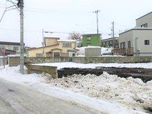 大字野尻字今田(筒井駅) 450万円 北東側から撮影した様子です。