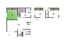 字寺ノ沢(野辺地駅) 960万円 960万円、3LDK+S(納戸)、土地面積205.34㎡、建物面積151.35㎡