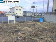長苗代1(長苗代駅) 520万円 敷地から県道を見た様子