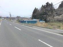 小松字上前柳 300万円 北道路(西より撮影)