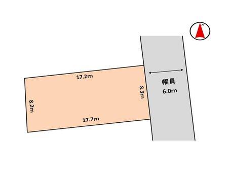 明神町2(石巻駅) 246万円 土地価格246万円、土地面積145㎡