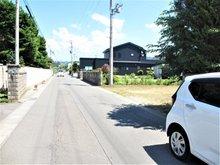 南田中村内(津軽尾上駅) 900万円 前面道路の両側に側溝があります