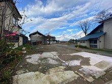 広野字下通 550万円 現在新しい道路を作っています。