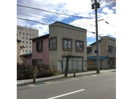 字田町(五所川原駅) 600万円 現地(2018年10月)撮影 古家解体、更地渡し