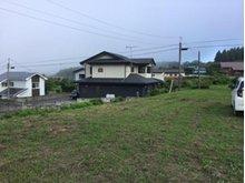 大字鮫町字骨沢(大久喜駅) 100万円 遠くに海があり、天気が良い日は海が見える時もあります。