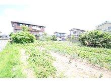 字上中野地(亘理駅) 700万円 敷地の南側から北側に向かって撮った写真です。