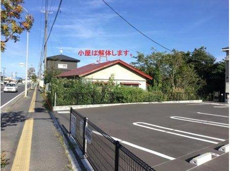 大字長苗代字内舟渡(八戸駅) 1980万円 北西からの写真。奥に長い敷地です。建物は解体してお引渡し致します。