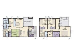 エムズコート石脇№13 【一戸建て】 (№13)、価格3390万円、3LDK+S、土地面積213㎡、建物面積112.2㎡