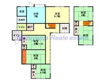 【投資用物件】駅前2(米沢駅) 350万円 350万円、6DK、土地面積174.96㎡、建物面積118.4㎡