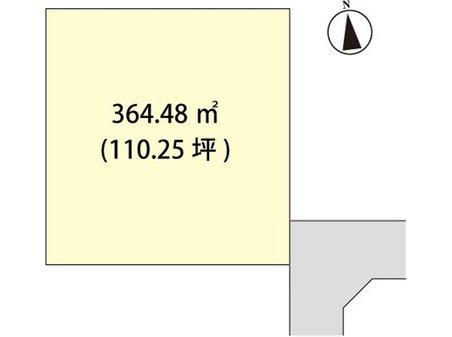 江刺愛宕字桜ノ木(水沢江刺駅) 500万円 土地価格500万円、土地面積364.48㎡