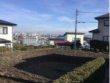 大字沢里字沢里山(本八戸駅) 445万円 敷地(南西側から撮影)