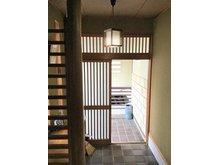山形市花楯二丁目 既存住宅 ご家族やお客様をお迎えする玄関スペース!