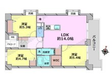 パシフィック小豆沢 3LDK、価格3980万円、専有面積66.15㎡、バルコニー面積9.16㎡専有面積:66.15平米 リノベーション済みのきれいな3LDK+WIC