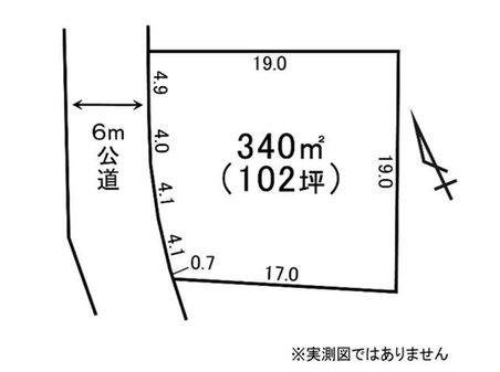 大字舟石川(東海駅) 700万円 土地価格700万円、土地面積340㎡
