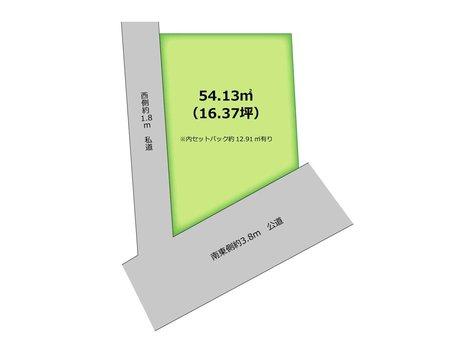 大井中央3(ふじみ野駅) 680万円 土地価格680万円、土地面積54.13㎡  南西角地につき、陽当り良好♪ 閑静な住宅街♪ 資料請求やご見学などお気軽にお問い合わせ下さい。