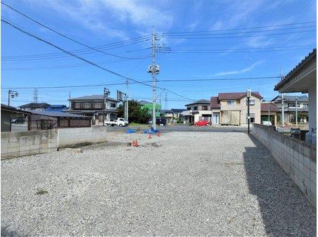 石橋町(治良門橋駅) 739万円 ■敷地南より北方面を撮影