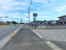 石橋町(治良門橋駅) 739万円 ■北道路より東方面を撮影