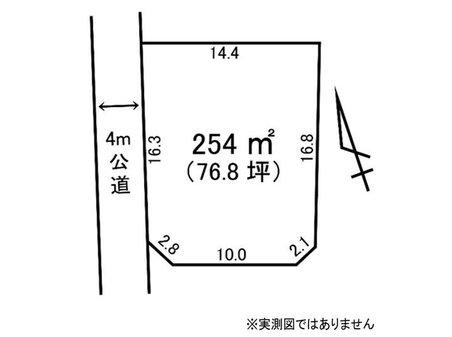 大字白方(東海駅) 660万円 土地価格660万円、土地面積254㎡