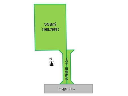 大字角渕(新町駅) 980万円 土地価格980万円、土地面積558㎡