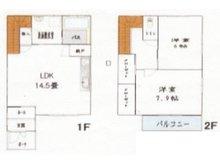 木崎(茂原駅) 1980万円 1980万円、2LDK、土地面積160.36㎡、建物面積77㎡
