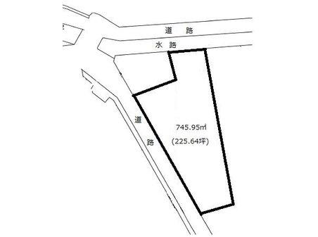 大字樋越(駒形駅) 2130万円 土地価格2130万円、土地面積745.95㎡