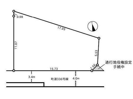 上大井(上大井駅) 980万円 土地価格980万円、土地面積158.15㎡