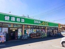 砂新田3(新河岸駅) 980万円 ドラッグ・エース砂新田店(自転車で約2分)まで390m