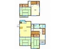 「再生住宅」土浦市西根南 1298万円、4LDK、土地面積87.35㎡、建物面積87.35㎡