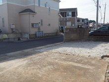 「再生住宅」土浦市西根南 現地(2020年12月)撮影 並列3台可能駐車スペース!!