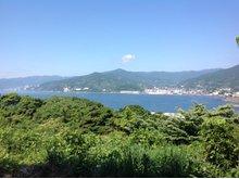 現地からの眺望(2014年06月)撮影