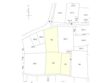 羽刈町(本中野駅) 2300万円 区画図