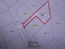 大字結城 320万円 土地価格320万円、土地面積265.46㎡国土調査済で境界はすべてはっきりしています!