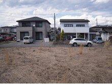 猪倉 600万円 敷地内南部分から北方向を撮影