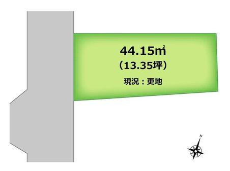大井中央4(上福岡駅) 580万円 土地価格580万円、土地面積44.15㎡  現況更地につき、即建築可能です。 資料請求や現地案内など、お気軽にお問い合わせください(`・ω・)b