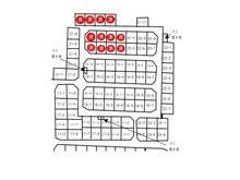 東吉田(八街駅) 380万円~500万円 区画図
