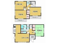 右籾(荒川沖駅) 1398万円 1398万円、4LDK、土地面積181.24㎡、建物面積83.29㎡