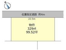 元石川町(水戸駅) 390万円 土地価格390万円、土地面積329㎡