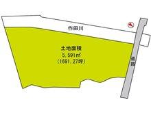 木原(日向駅) 5100万円 土地価格5100万円、土地面積5,591㎡土地面積5591㎡(1691.27坪)