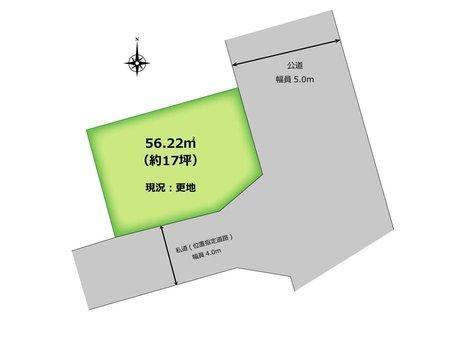 大字下伊草 340万円 土地価格340万円、土地面積56.22㎡  東南角地にて陽当たり良好♪ 建築条件はありません! 資料請求やご見学などお気軽にお問い合わせ下さい♪