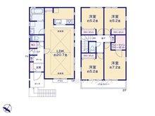 緑ケ丘2(上本郷駅) 5880万円 5880万円、4LDK+S(納戸)、土地面積125.22㎡、建物面積102.68㎡1号棟