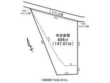 森山町1(大甕駅) 730万円 土地価格730万円、土地面積486㎡