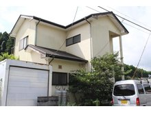 【投資用物件】松之郷 500万円 東北側からの外観