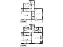 【投資用物件】松之郷 500万円 500万円、3DK、土地面積136.75㎡、建物面積71.37㎡