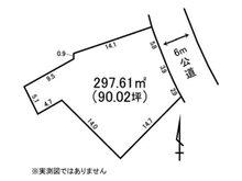 河原子町3(常陸多賀駅) 1000万円 土地価格1000万円、土地面積297.61㎡