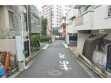 愛住町(曙橋駅) 2億6000万円 前面道路含む現地写真